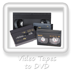 Videos to DVD