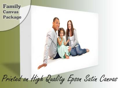 Family Canvas Package Voucher