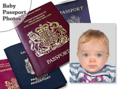 Baby Passport and Visa Photo Service