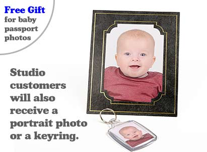 Baby passport photo free gift