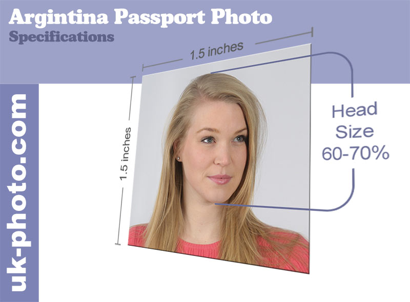 US passport photo size