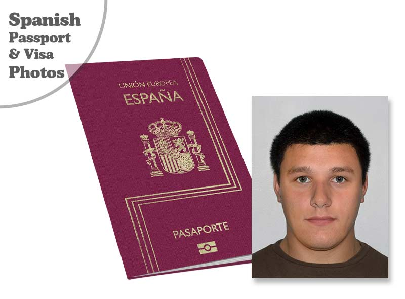 Spanish passport and visa photo serivce