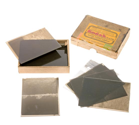 Quarter Plate Negatives